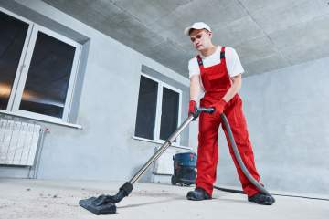 Nettoyage et remise en état après des travaux à L'Isle-Jourdain